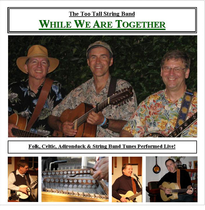 While We Are Together CD Inside Cover